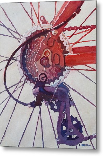 Rear Derailleur Metal Print
