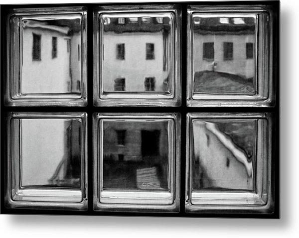 Rear Window Metal Print