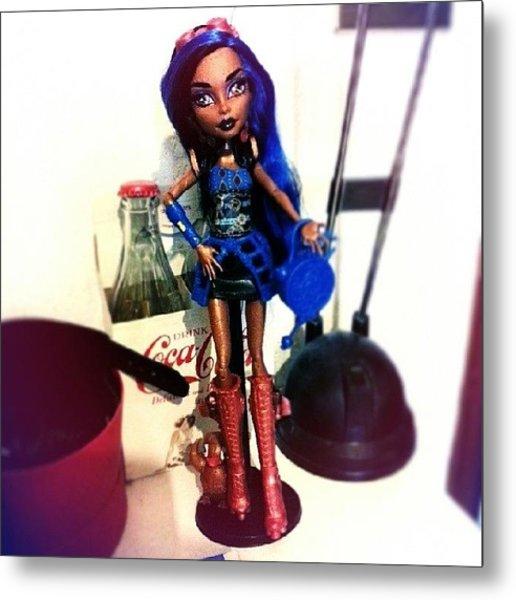Rebecca Steam #monsterhigh #doll Metal Print