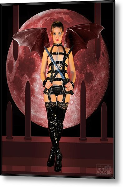 Rebel Demon Metal Print