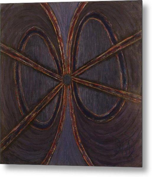Recession Ribbon Metal Print by David Douthat
