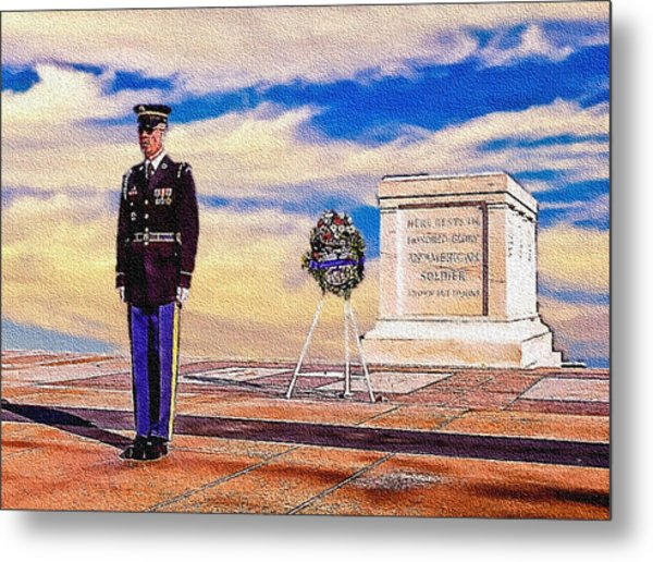 Recitation Of The Requirements Of Honor Guards Metal Print