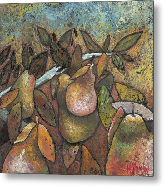 'recognized By It's Fruit' Metal Print
