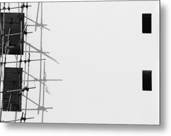 Rectangles And Shadows Metal Print