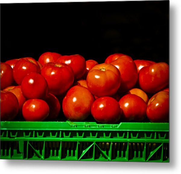 Red And Ripe Metal Print