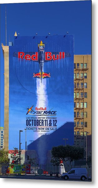 Red Bull On Olympic  Metal Print