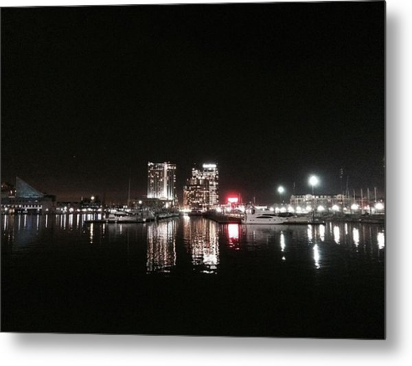 Red For Mb Metal Print