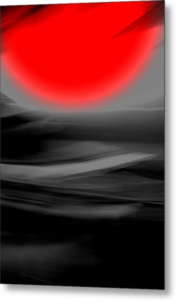 Red Giant Metal Print