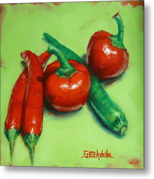 Red Hot Chilli Peppers Metal Print
