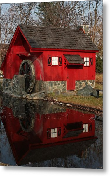 Red Mill Metal Print
