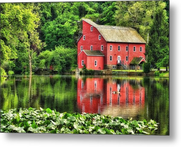 Red Mill Topaz Metal Print