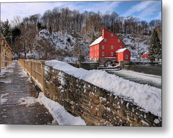 Red Mill Winter 2009 Metal Print
