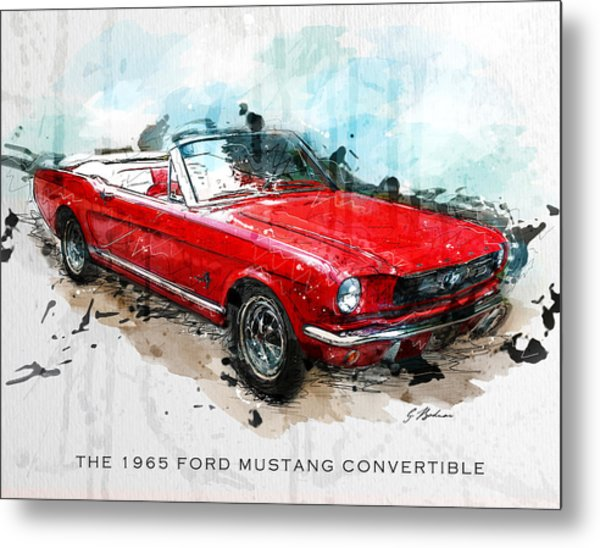The Red Pony 2 Metal Print