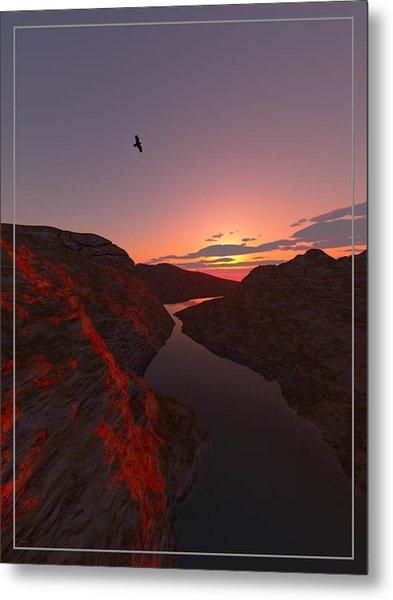 Red River... Metal Print