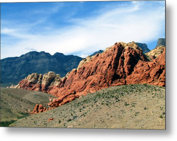 Red Rock Canyon Metal Print by Andrea Dale