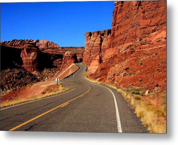 Red Rock Country Metal Print