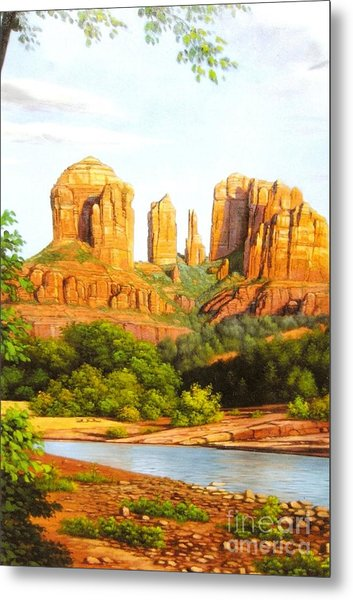 Red Rock Crossing In Sedona Metal Print