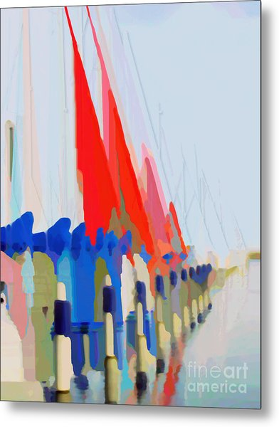 Red Sails In The Sunset Metal Print