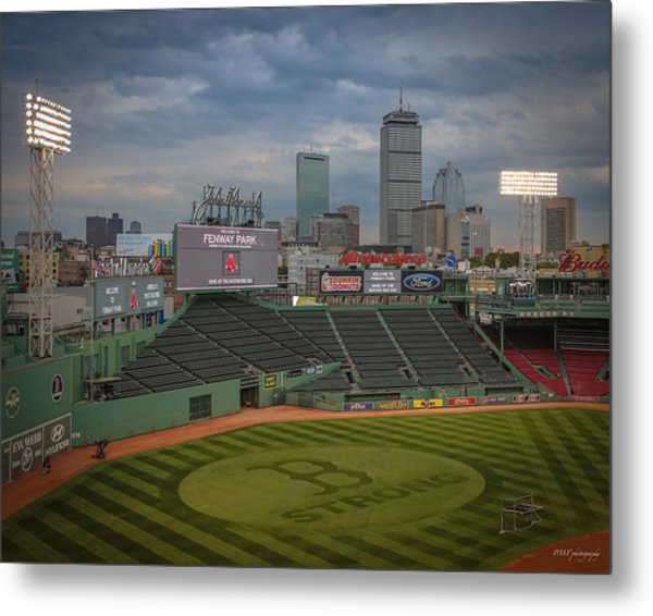 Red Sox Strong Metal Print