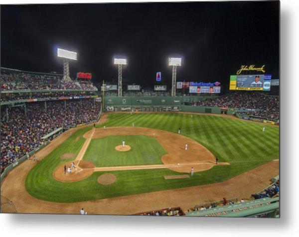 Red Sox Vs Yankees Fenway Park Metal Print