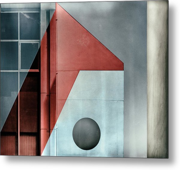 Red Transparency. Metal Print by Harry Verschelden