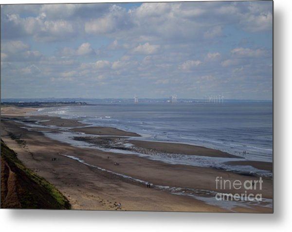 Redcar From A Distance Metal Print