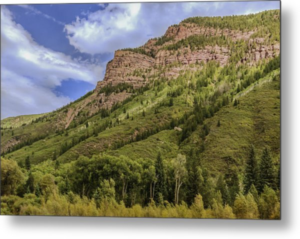 Redstone Cliffs At Redstone Colorado Metal Print