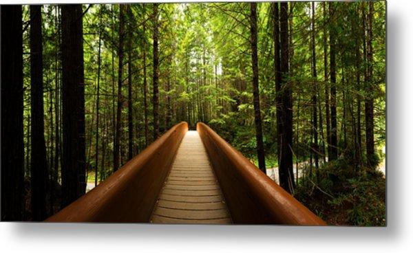 Redwood Bridge Metal Print