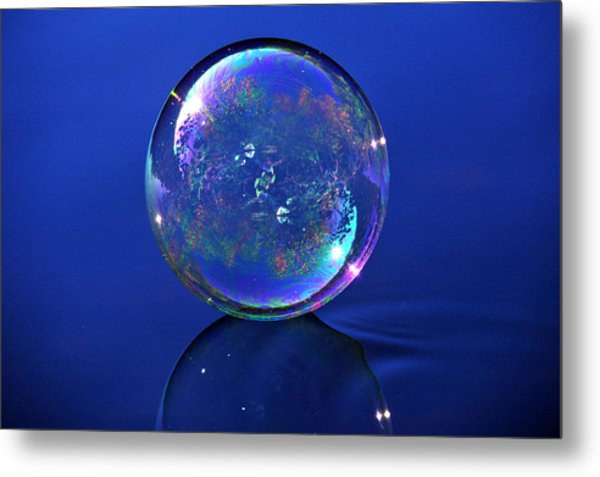 Refection Of My World Metal Print