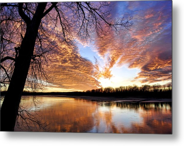 Reflected Glory Metal Print