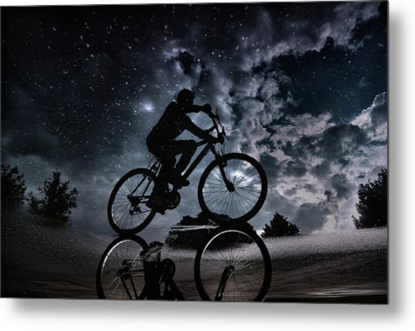 Reflected In The Stars... Metal Print