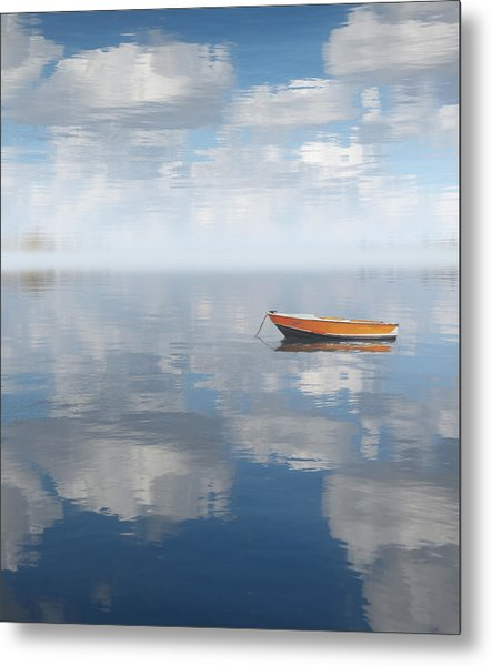 Reflected Shanti Metal Print
