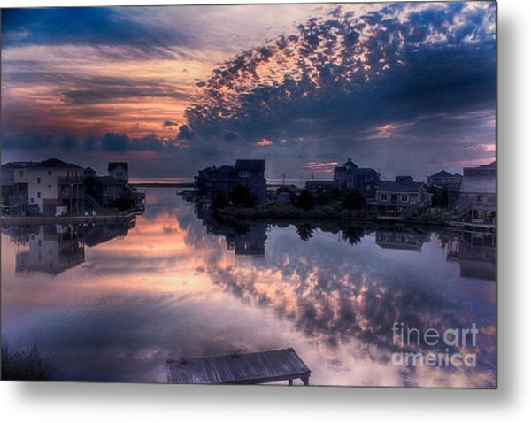 Reflecting On North Carolina Metal Print