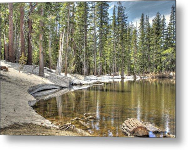 reflecting pond 2 Carson Spur Metal Print