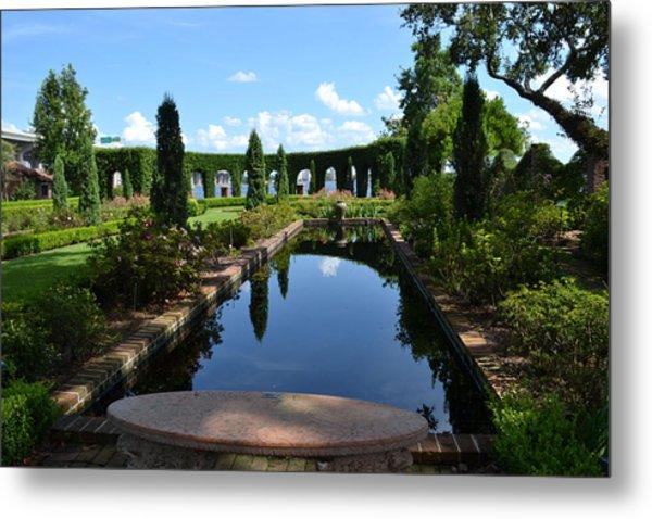 Reflecting Pond Landscape Metal Print by Victoria Clark