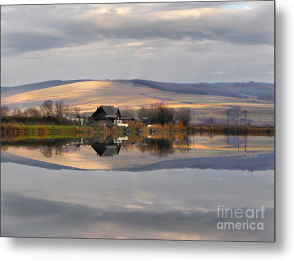 Reflection A Mirror To Nature Metal Print