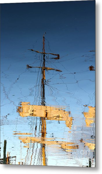 Reflection Of A Golden Age Metal Print by Butch Lombardi