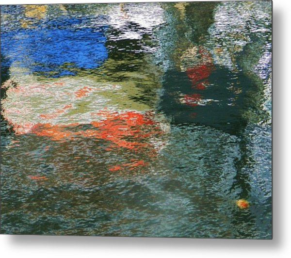 Reflections And Jellyfish In Ketchikan Metal Print