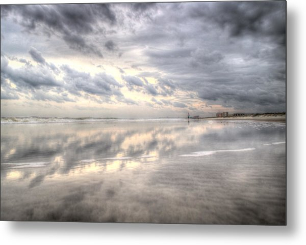 Reflections Of Amelia Island Metal Print