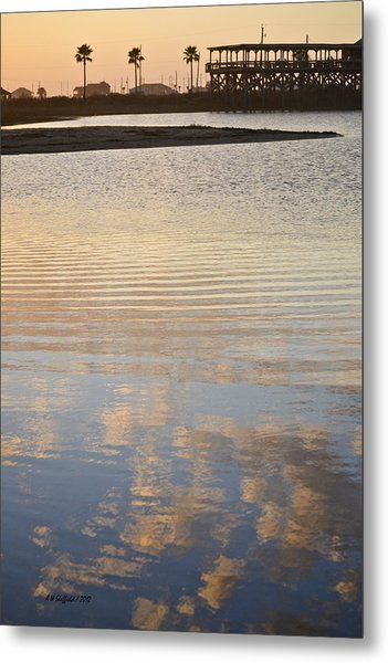 Reflections Of Dusk Metal Print