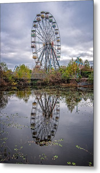 Reflections Of Fun Metal Print