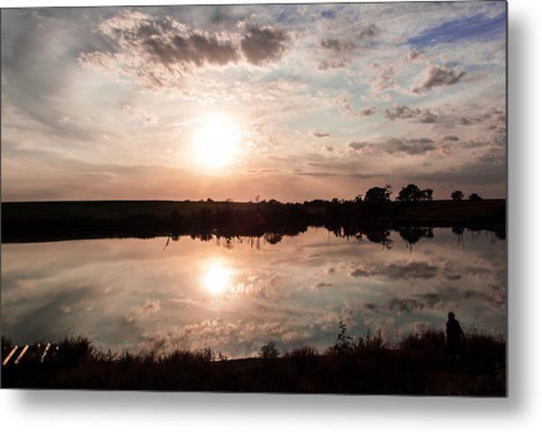 Reflections Of Sunset Metal Print
