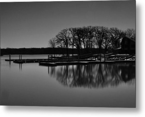 Reflections Of Water Metal Print