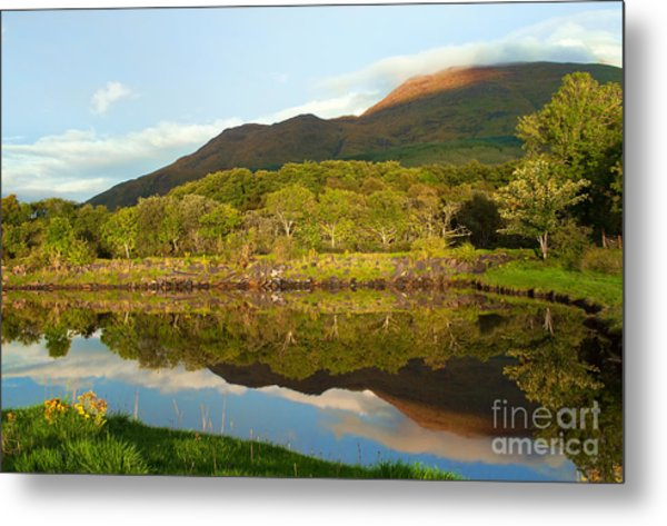 Reflections On Loch Etive Metal Print