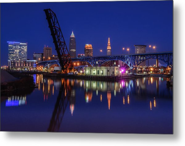 Reflections On The River Metal Print