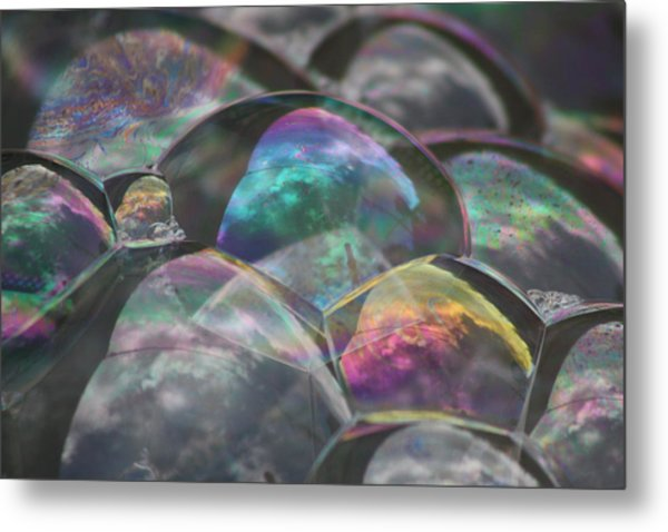 Refraction Metal Print by Cathie Douglas