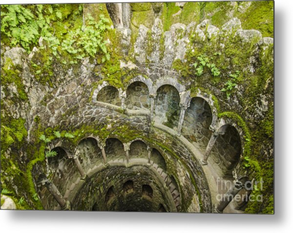 Regaleira Initiation Well 2 Metal Print