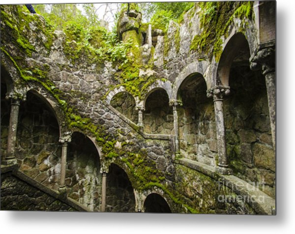 Regaleira Initiation Well 4 Metal Print