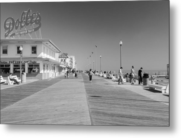 Rehoboth Beach Boardwalk Metal Print