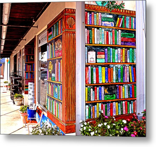 Rehoboth Beach Browseabout Books Metal Print